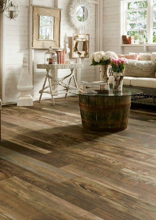 Hot Flooring Trends Mixed Wood Species And Reclaimed Wood