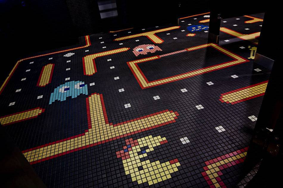 Pac Man Flooring